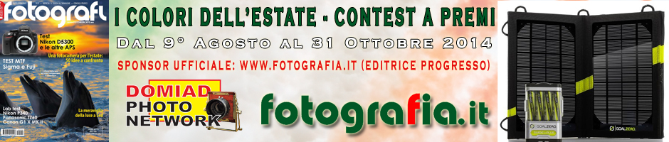 post 3 1407501377 I COLORI DELL'ESTATE   Concorso a Premi   Sponsor: www.fotografia.it (Editrice Progresso)